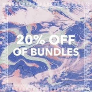 20% off bundles of 2+ items in my closet!